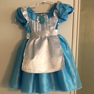 Disney Store Collections Size 3 Alice Costume